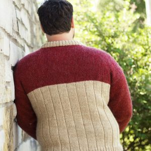 totem sweater back view