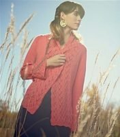 Afion Cardigan Knitscene front view