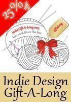 Welcome to the Indie Design Gift A-Long!