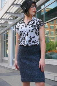 Pencil Skirt Cowtownknit