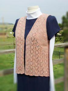 pink vest front view