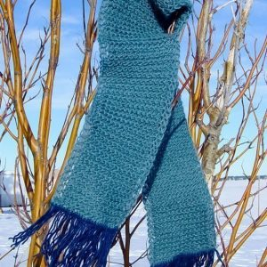 winter lace scarf
