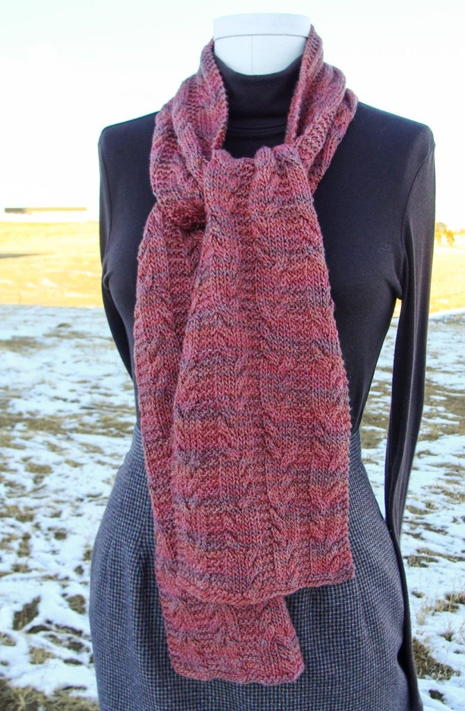 Deriva Seaman Scarf For Everyone Desert Rose Fiber Arts