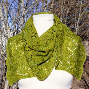 Aspen Whispers Scarf welcomes spring…