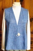 Swingy Lace Vest ~ New Pattern