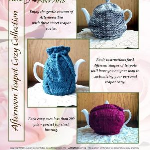 afternoon knit teapot cozies collection