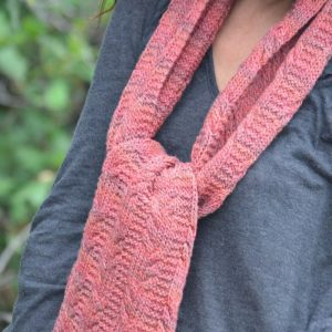 Deriva Seaman Scarf knitting pattern