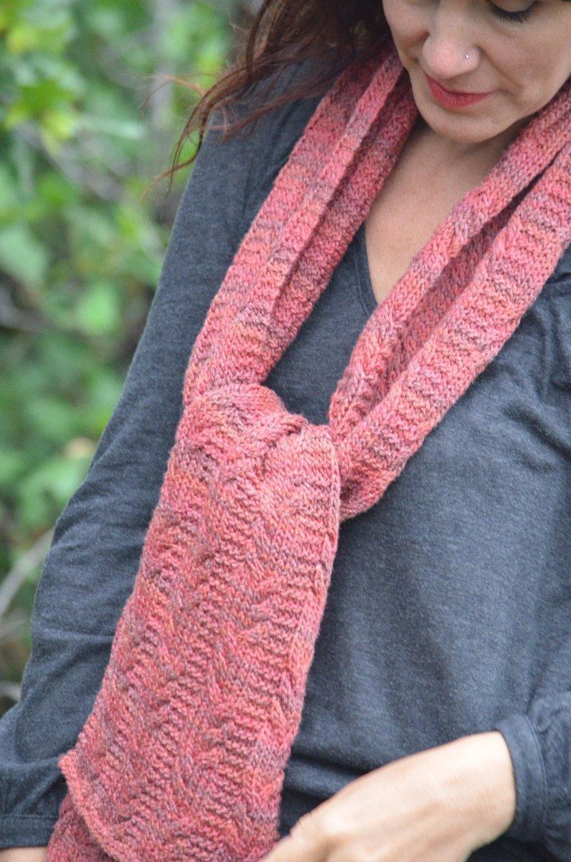 Knitting Pattern For Seaman s Scarf : Deriva Seaman Scarf Knitting Pattern