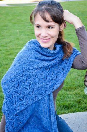 modern faroese shawl