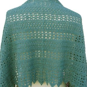 sedona shawl back view