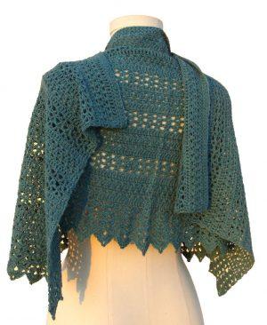 sedona shawl back wrapped