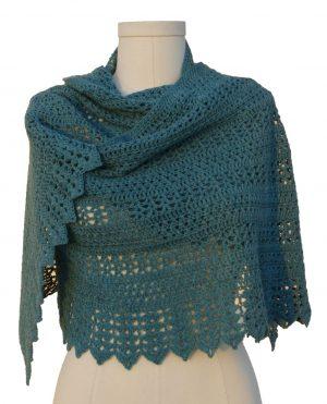 sedona shawl front wrapped