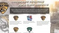 colorado springs amateur hockey