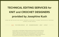 josephine kush tech editor for knit or crochet